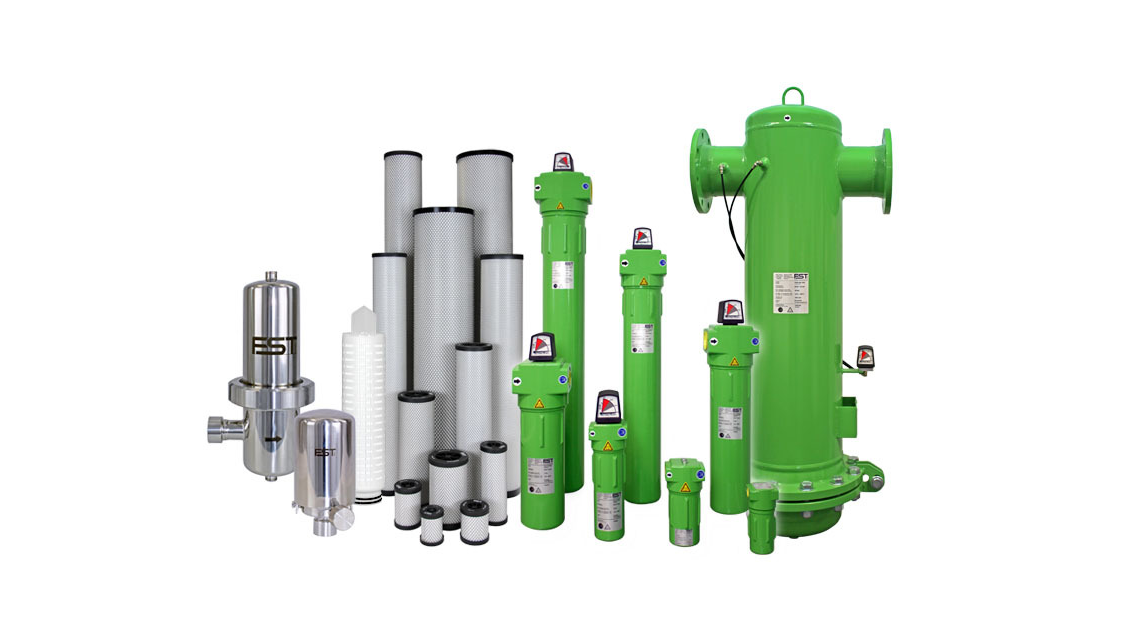 Logo Compressed air filters