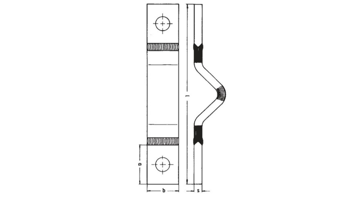 Logo Schutzgasgeschweisste Kupfer-Dehnungsbänder