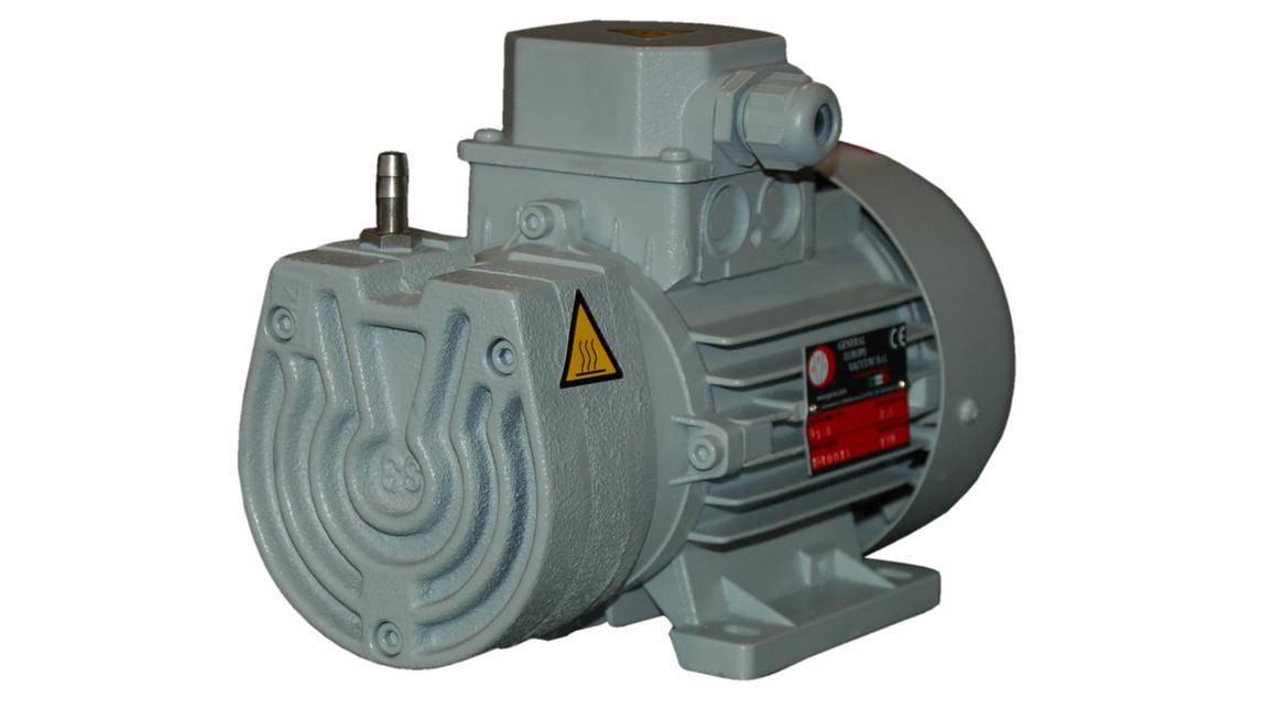 Logo oil less vacuum pumps Models GS