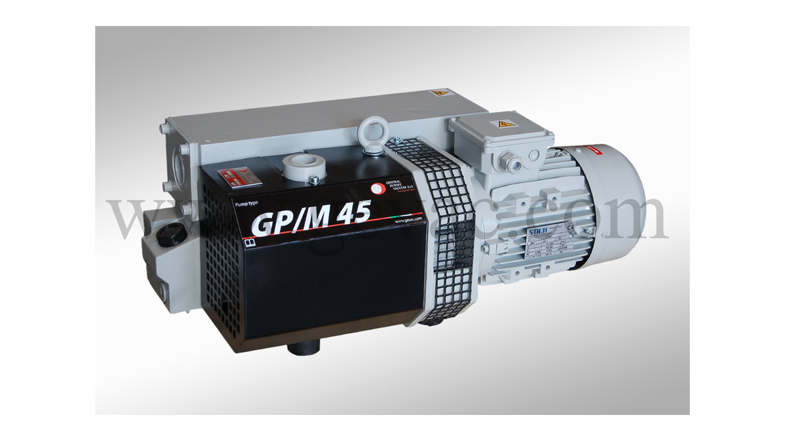 Logo Oil lubricated vacuum pumps GP and GPM
