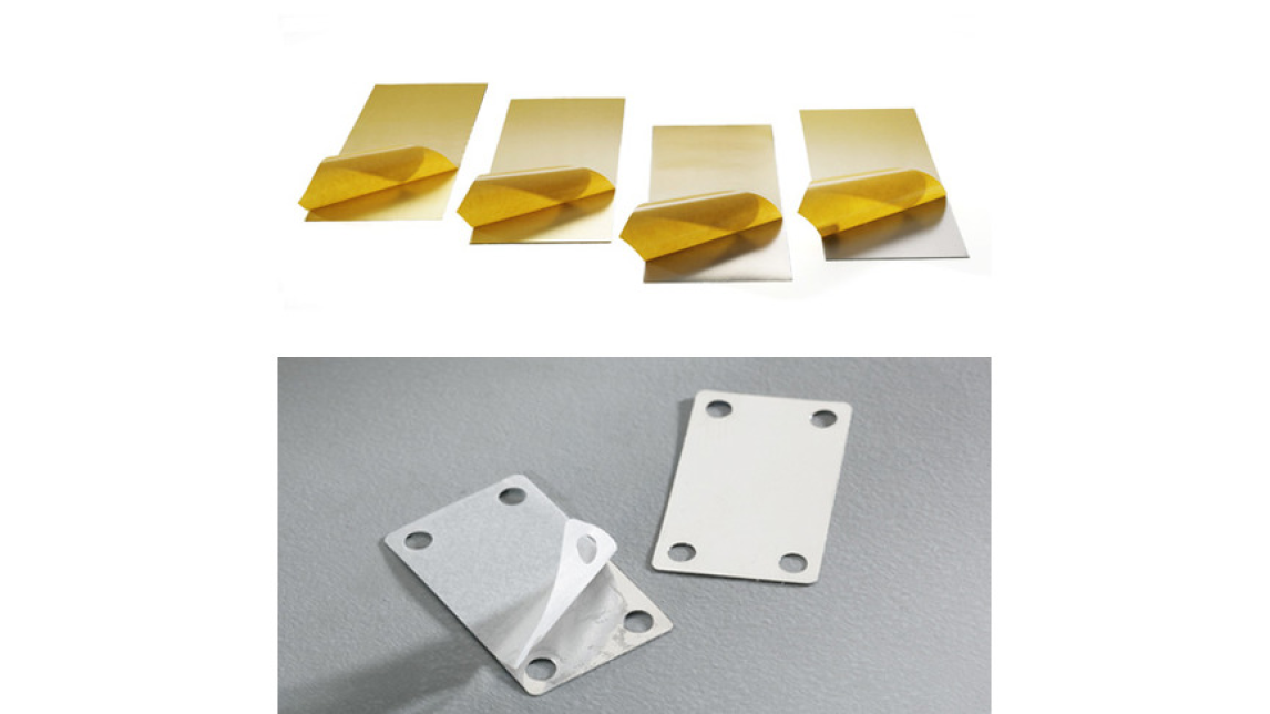 Logo M-Tech® Selfadhesive metal foils and selfadhesive metal parts