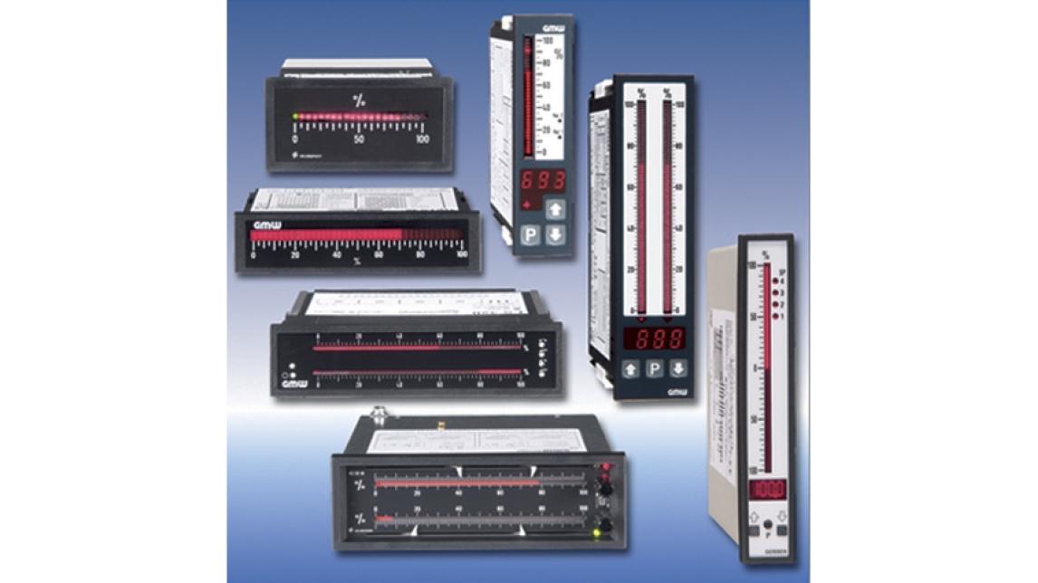 Logo Bar Graph Meters