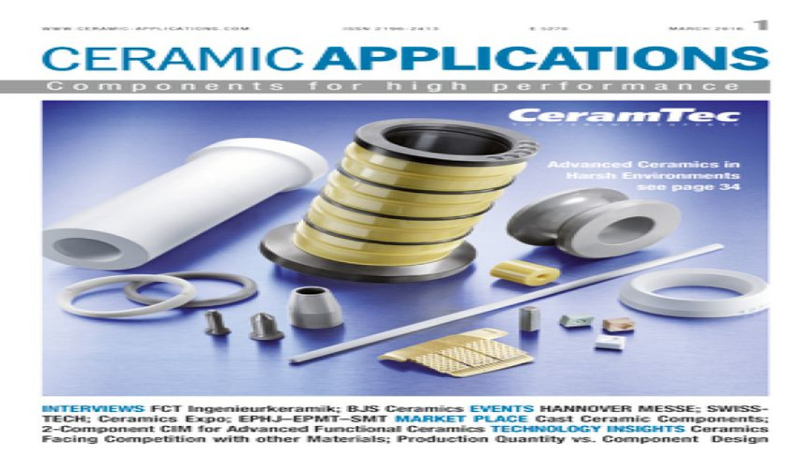 Logo CERAMIC APPLICATIONS (Print und online)