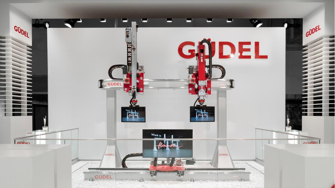 Logo Güdel Trade Show Highlights