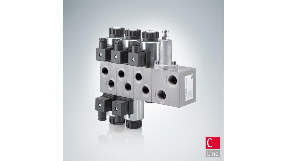 "Logo Directional valve bank CWS ""C-Line"""