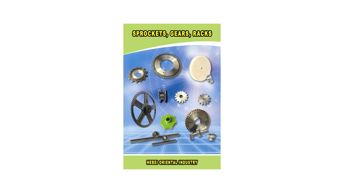 Logo sprockets, cast iron sprockets, gears and racks