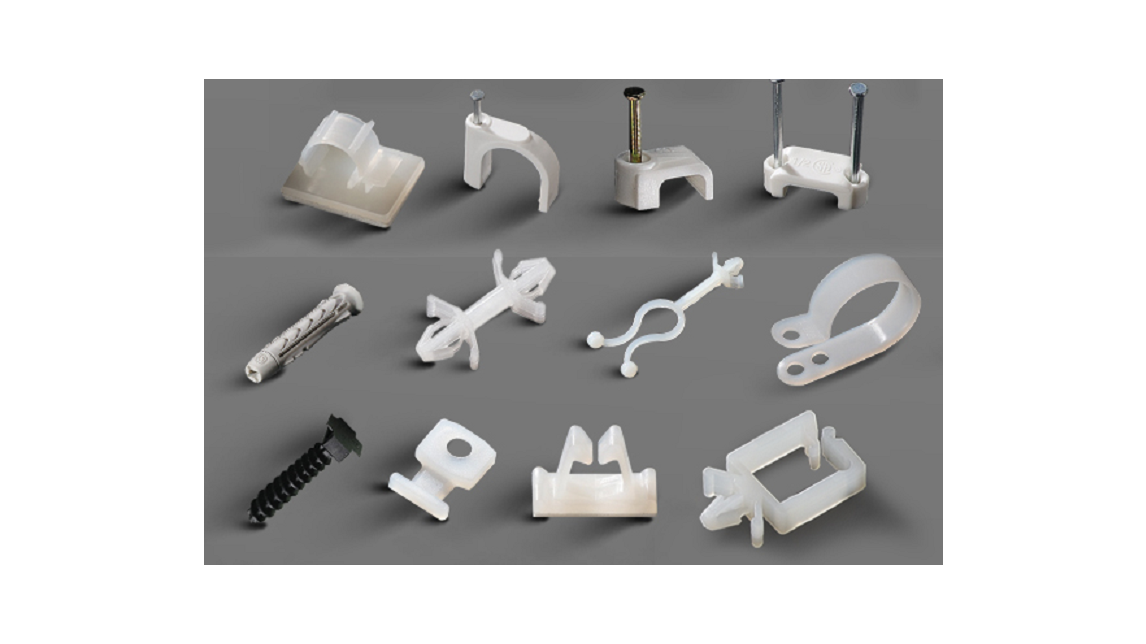 Logo Cable Clips & Clamps