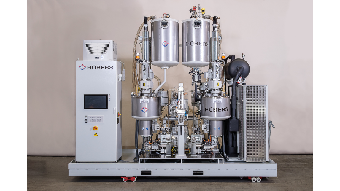 Logo Vacuum Infusion Technology from HÜBERS.