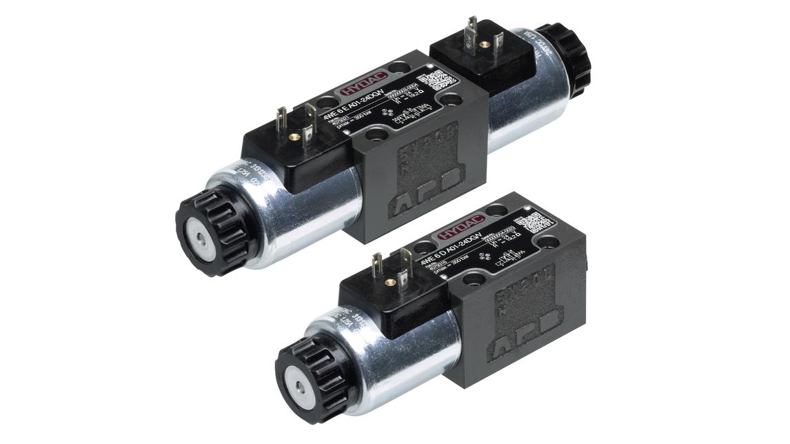 Logo Product range HYDAC industrial valves