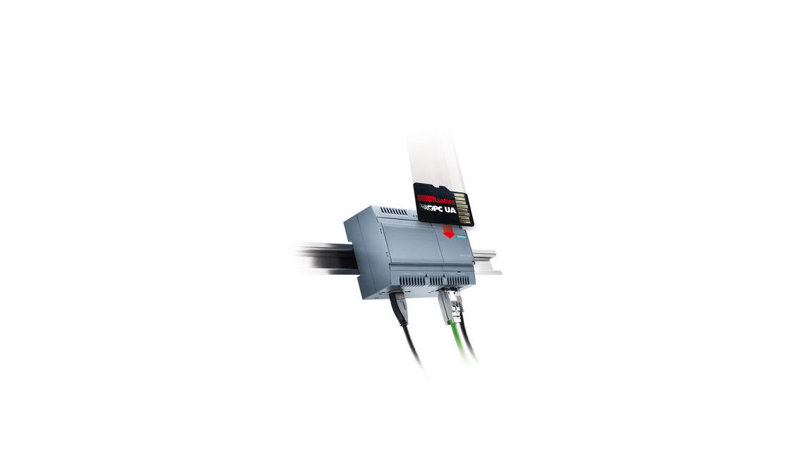 Logo IBH OPC UA  Iot2040