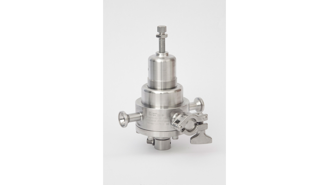 Logo TRI CLAMP Pressure regulator