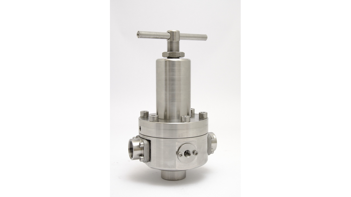Logo R3123 STAINLESS STEEL PRESSURE REGULATOR