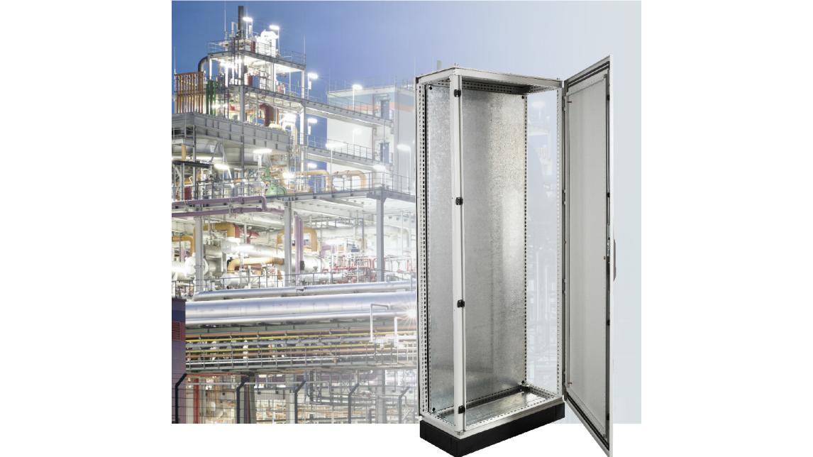 Logo IP55-IP65 Steel floor-standing cabinets