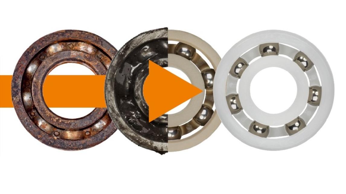 Logo igus® xiros® polymer ball bearings