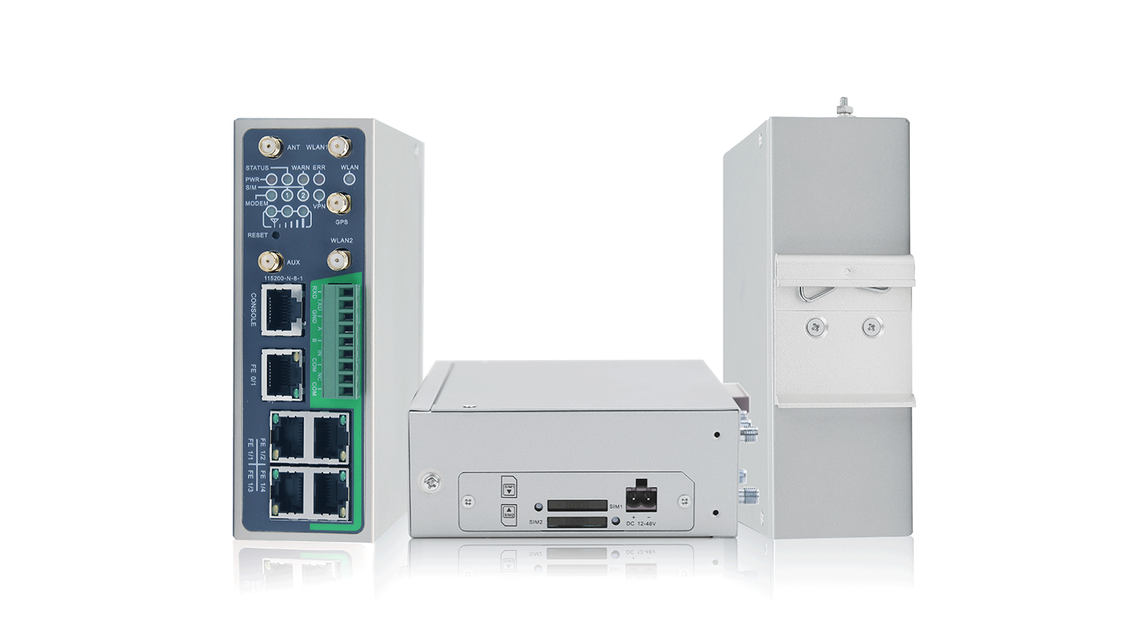 Logo InRouter900 LTE Industrie Router