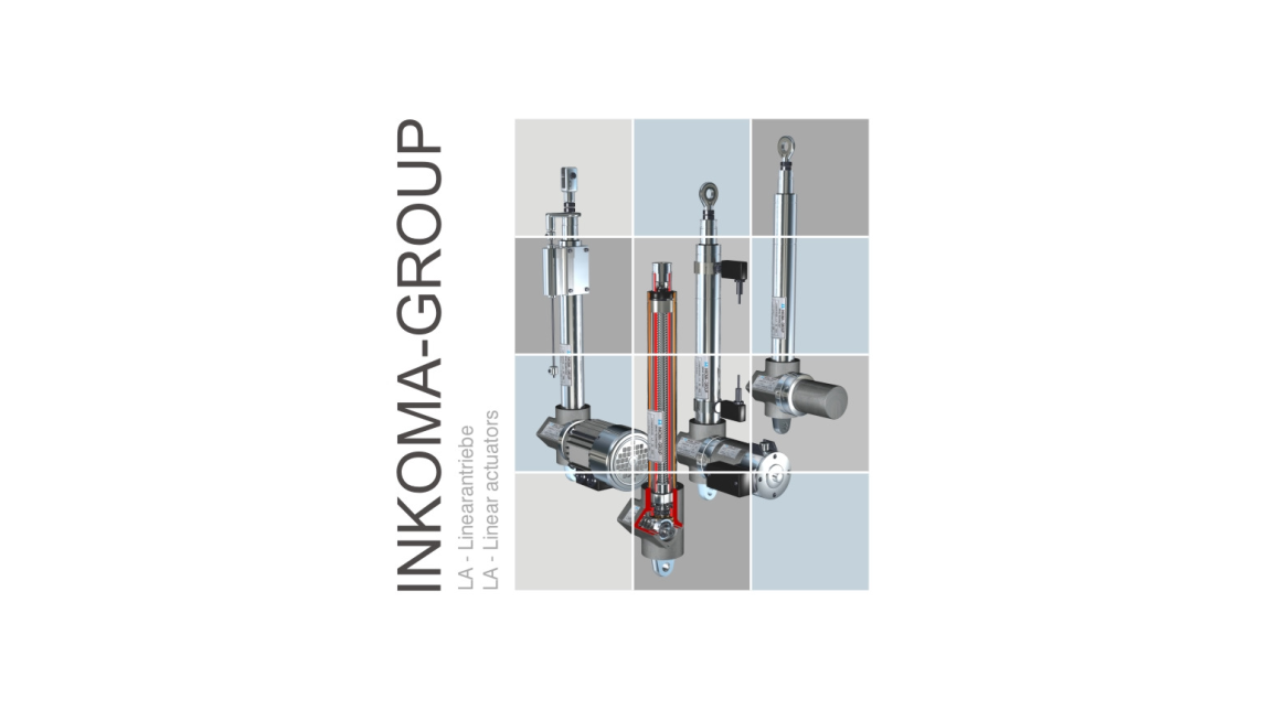 Logo INKOMA - LA - Linear actuators