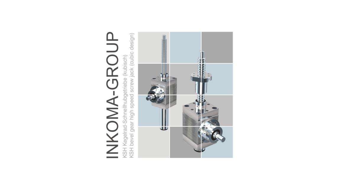 Logo INKOMA-KSH bevel gear speed screw jack