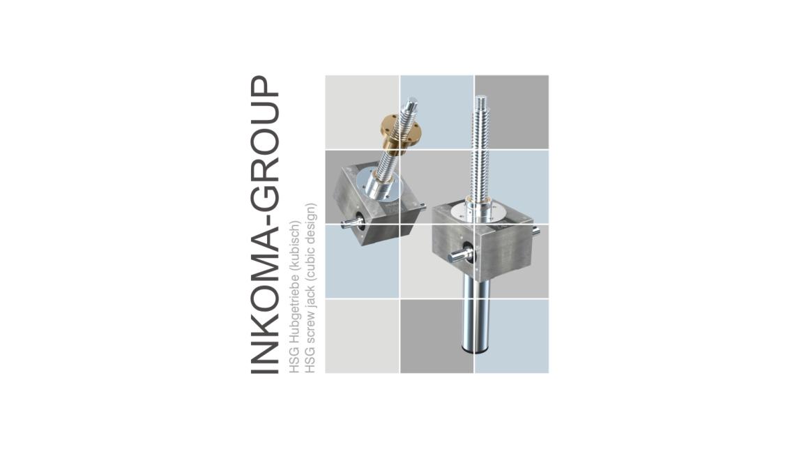Logo INKOMA - HSG Hubgetriebe (kubisch)