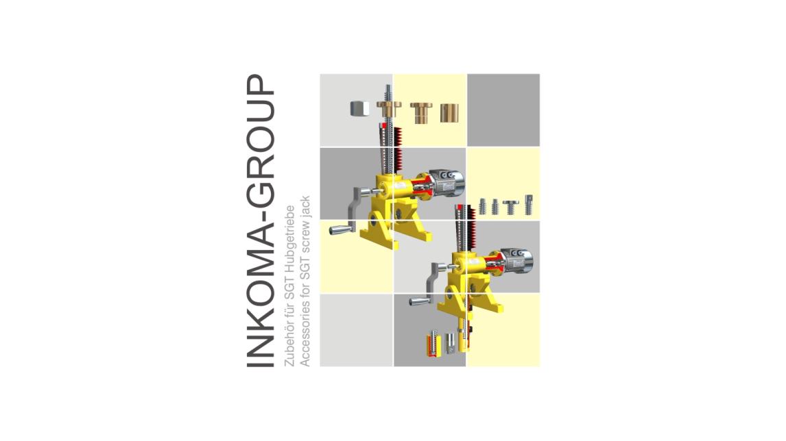 Logo ALBERT - Zubehör für SGT Hubgetriebe