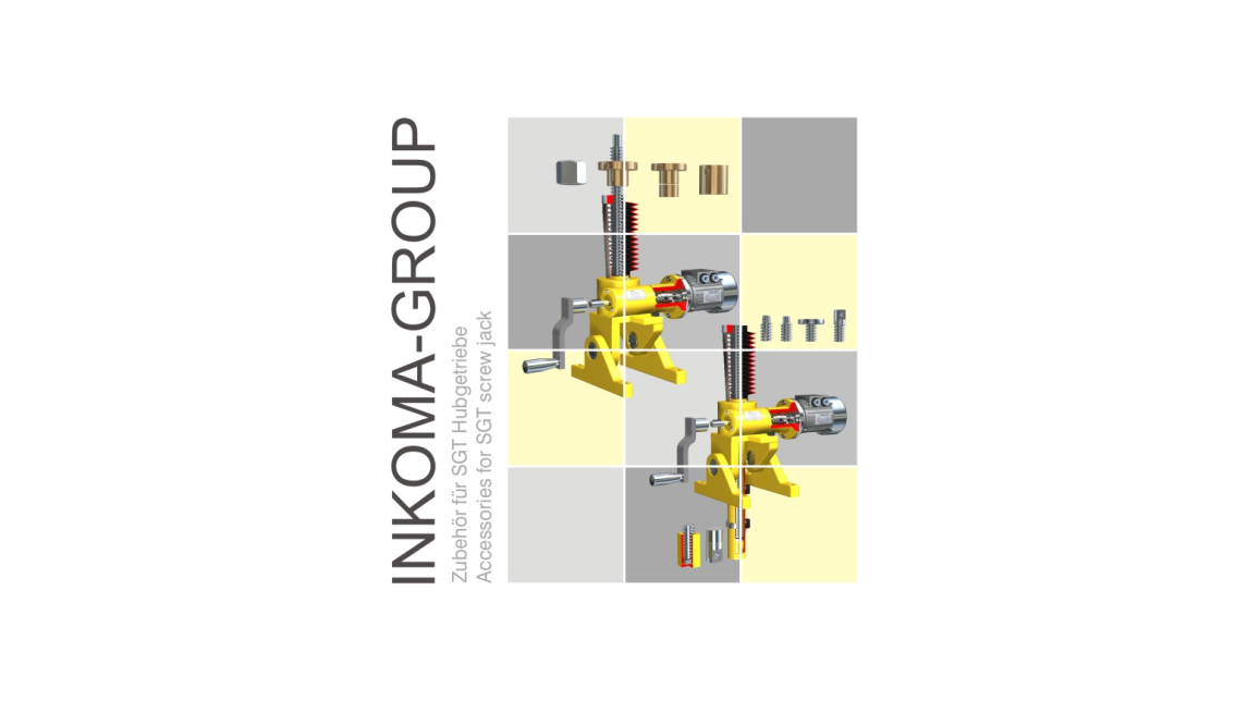 Logo ALBERT - Accessories for SGT screw jack