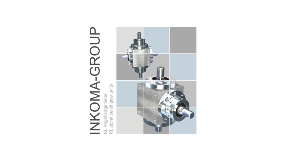 Logo INKOMA - KL spiral bevel gear units