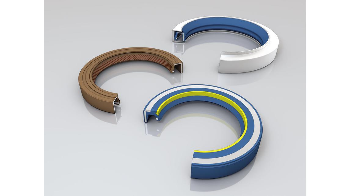 Logo Oil seals, radial shaft seals