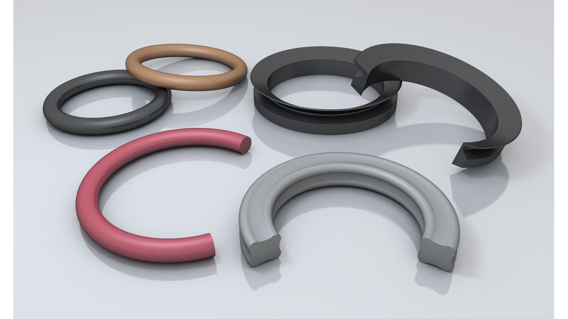 Logo O-rings, X-rings,