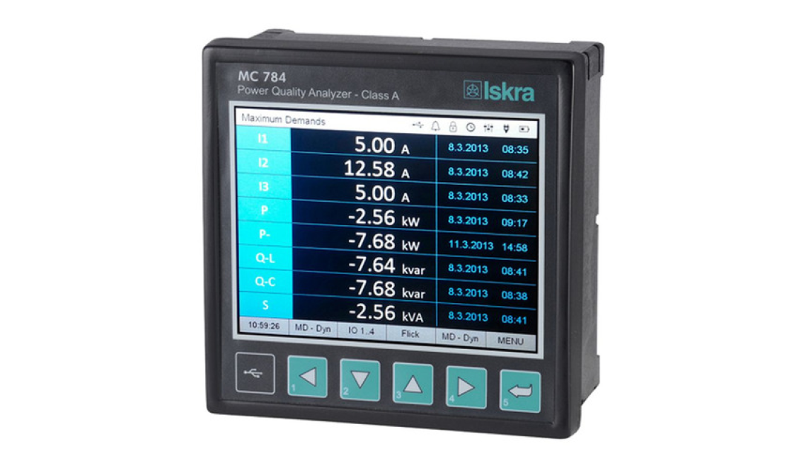Logo iMC 784 Advanced Power Quality Analyser