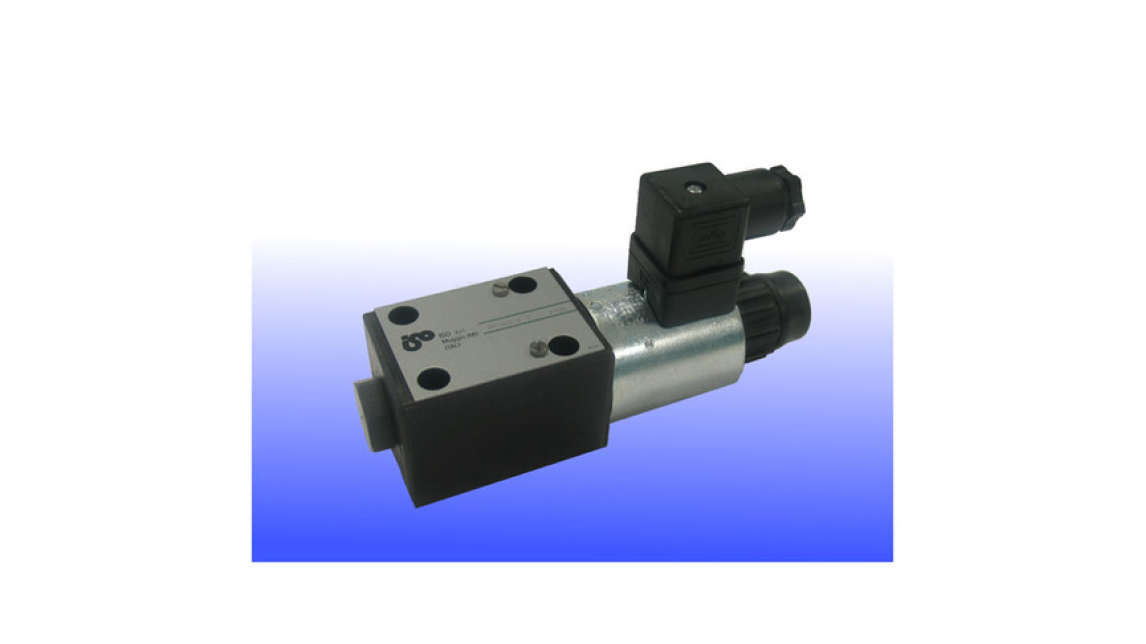 Logo Cetop-03 size, Direct Operated, Solenoid Poppet Type Valve (DES-03)