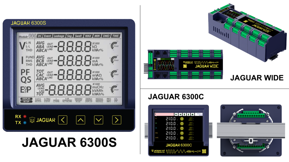 Logo Power quality meter JAGUAR series