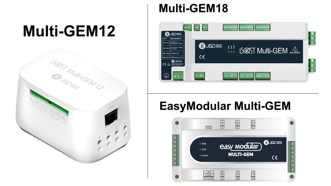 Logo Multi-circuit Power and Energy Meters