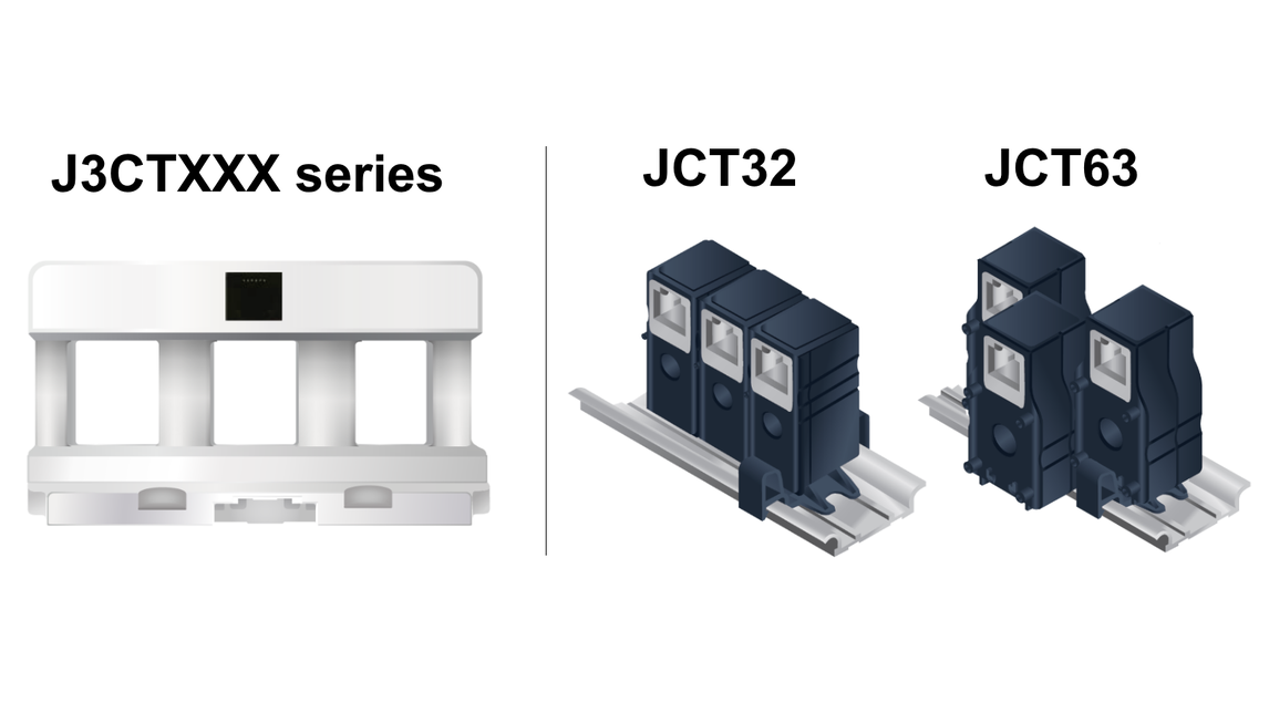 Logo 3-IN-1 CT & Single CT with built-in RJ12
