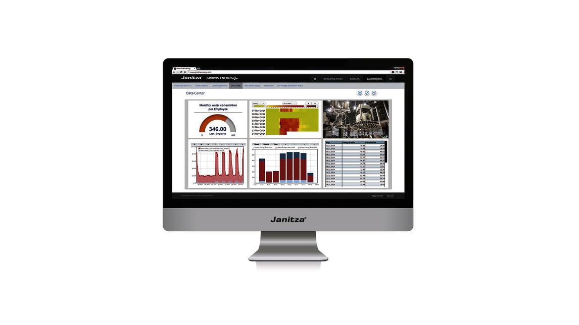 Logo GridVis®-Energy Software