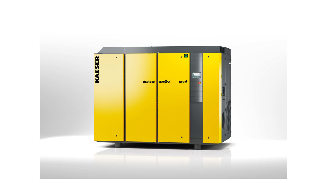 Logo Kaeser DSD rotary screw compressors