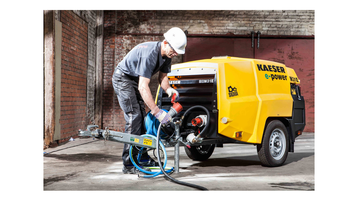 Logo Kaeser Electric portable compressors
