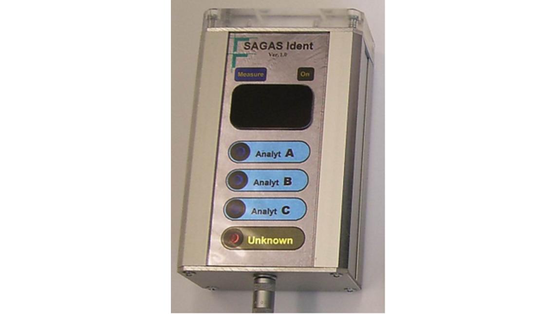Logo SAGAS, a Gas Analysis System