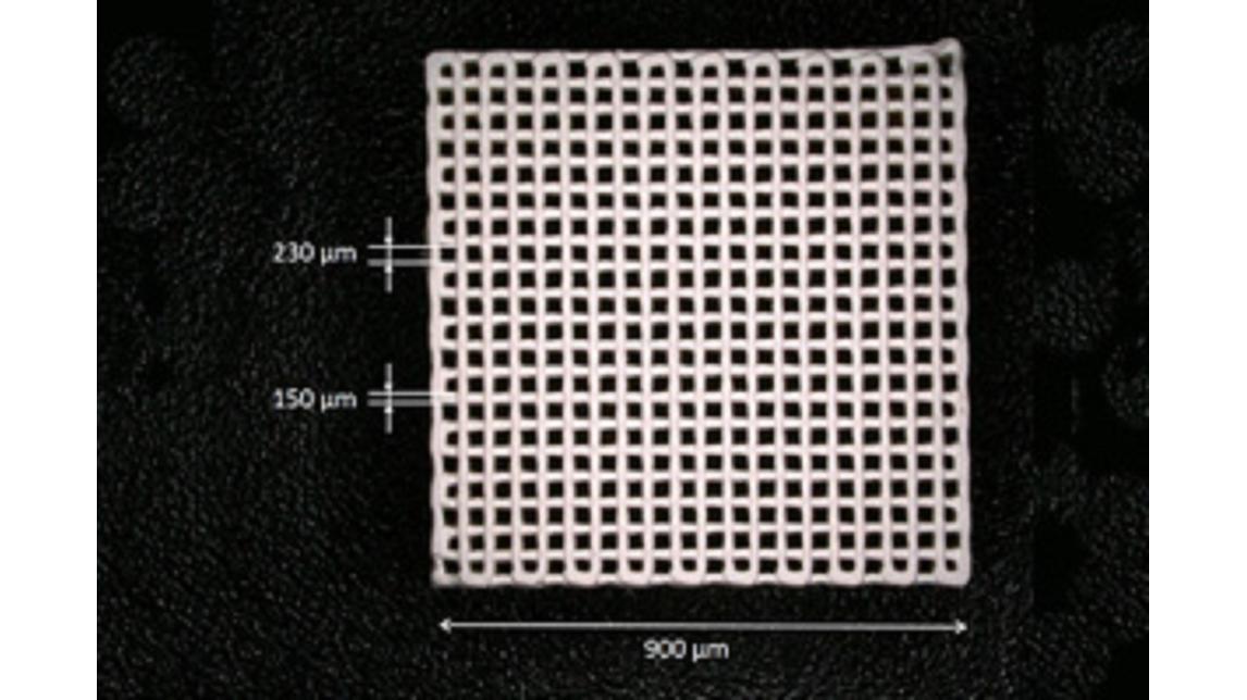 Logo Highly porous ceramic filters