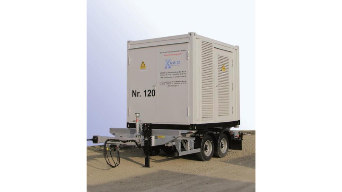Logo Mobile Transformatorstationen -Container