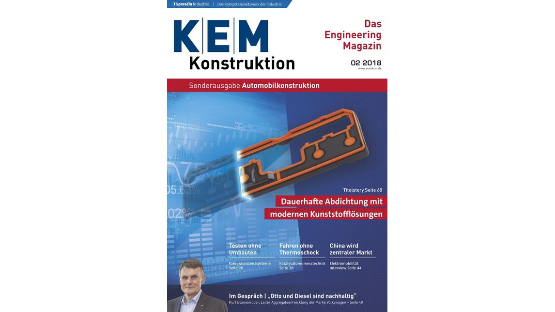 Logo KEM Das Engineering Magazin