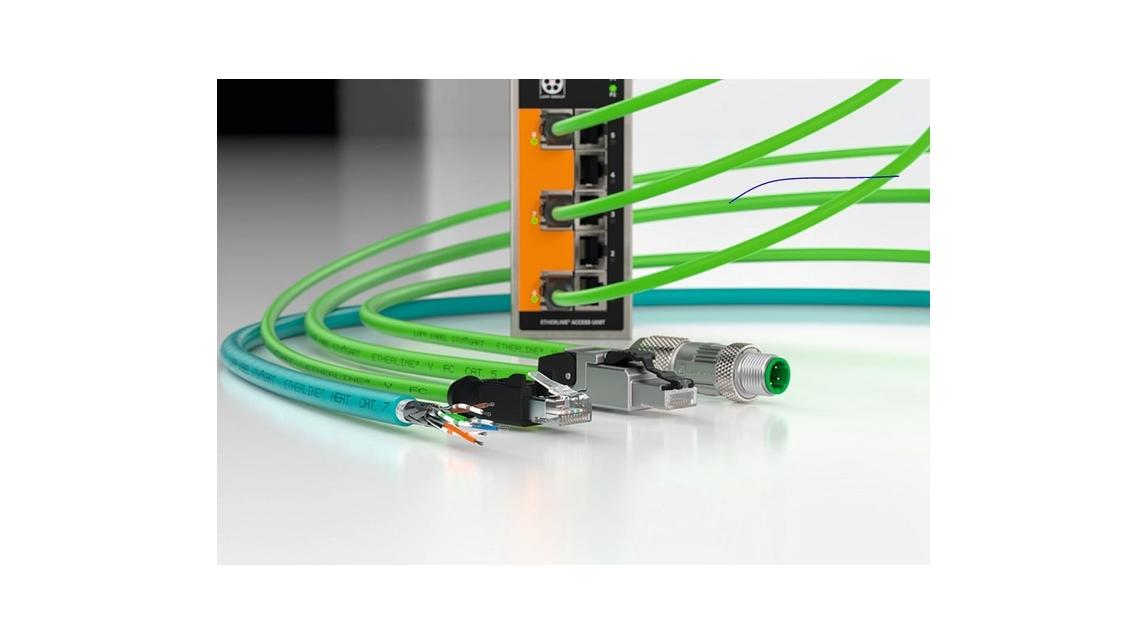 Logo ETHERLINE® Data communication systems
