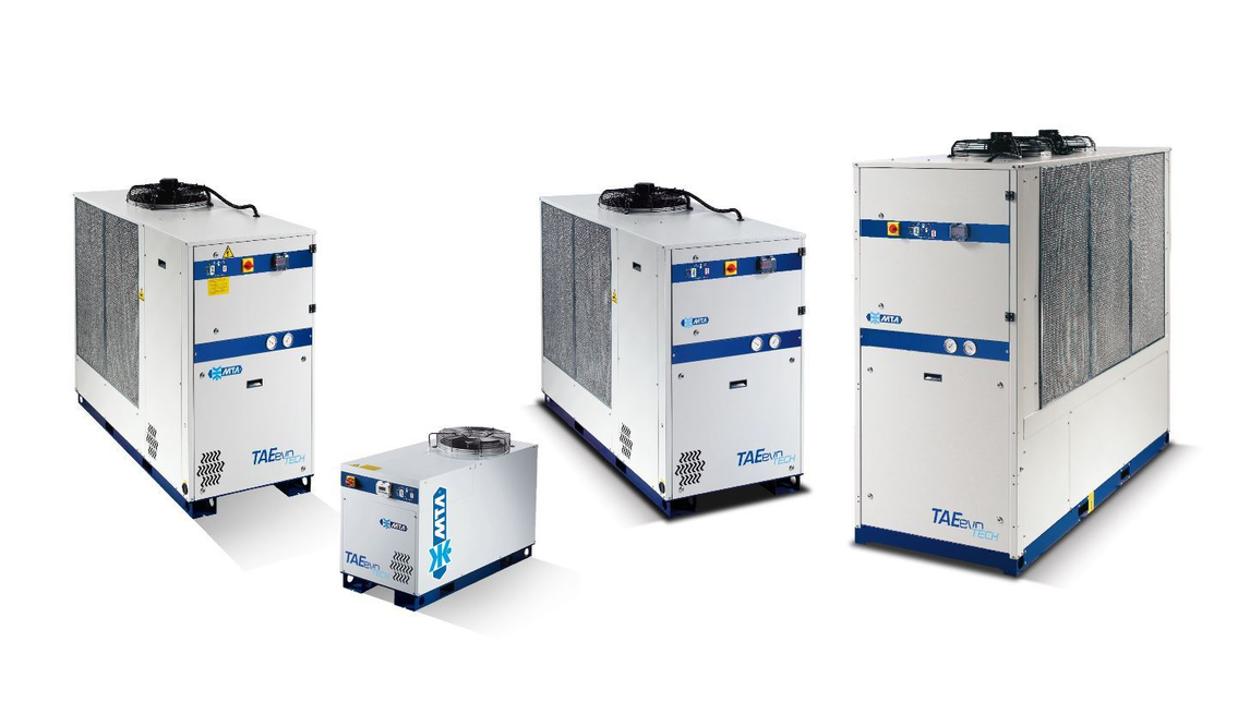 Logo TAEevo Tech - Air cooled chillers
