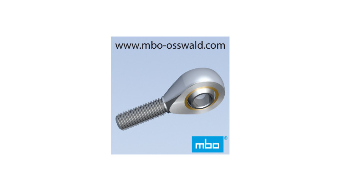 Logo Rod ends DIN ISO 12240-4 male thread