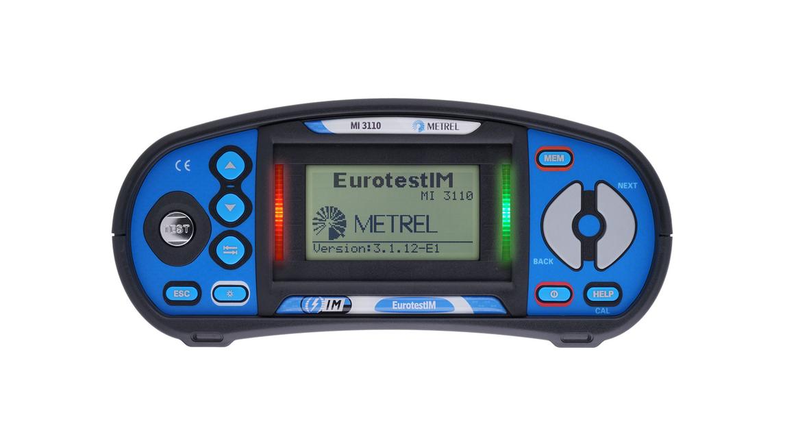 Logo MI 3110 Eurotest IM