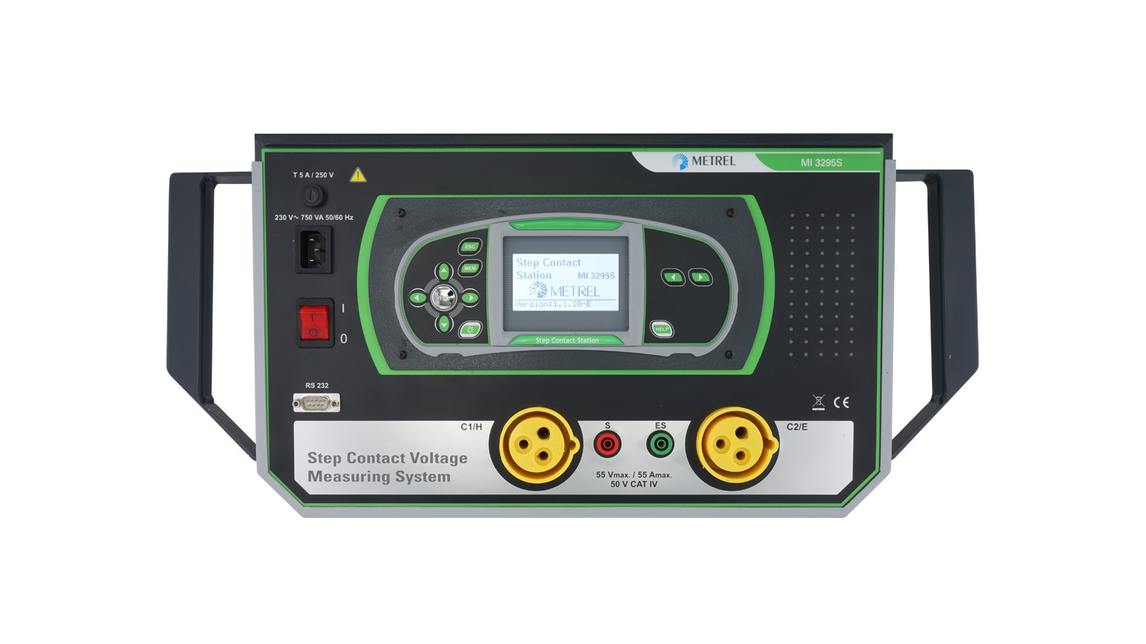 Logo MI 3295 Step Contact Voltage Measuring System