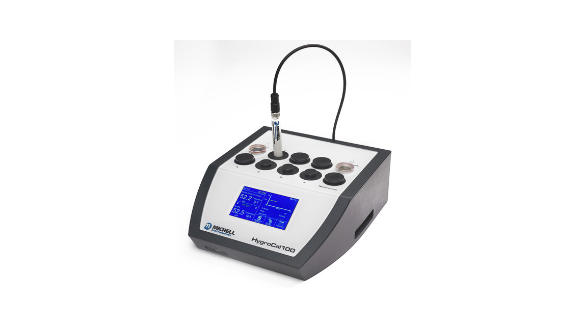 Logo HygroCal100 Humidity Validator