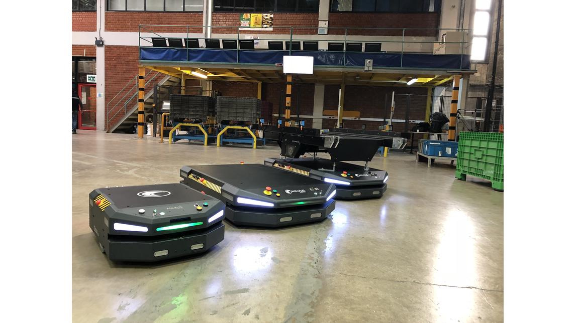 Logo Autonomous Mobile Transportation Robot