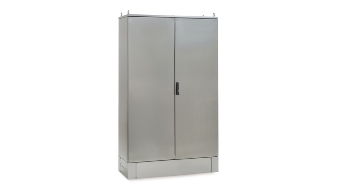 Logo Integrated compact cabinets STEEL