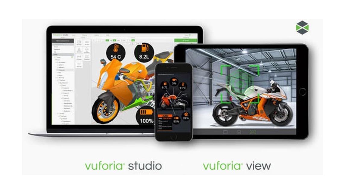 Logo Vuforia Studio