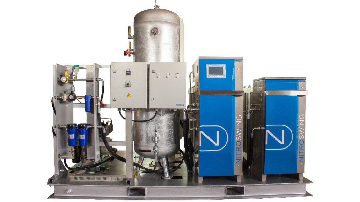 Logo Nitrogen Generator for Laser Cutting