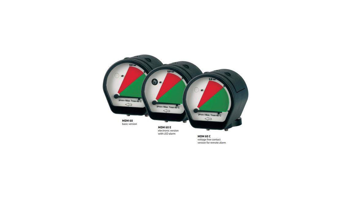 Logo MDM60 Differenzdruckmanometer